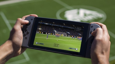 Nintendo Switch will receive 'EA Sports FIFA' in September.