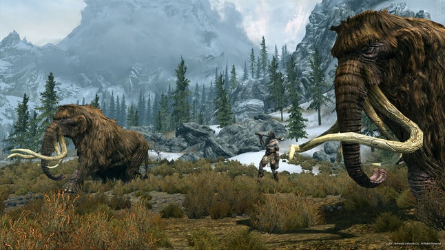 'The Elder Scrolls V: Skyrim' is great for dads who love to explore.