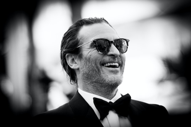 Joaquin Phoenix attends the Cannes closing cermony.