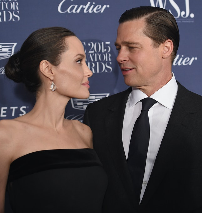 Find someone who looks at you like Brad Pitt once looked at Angelina Jolie.
