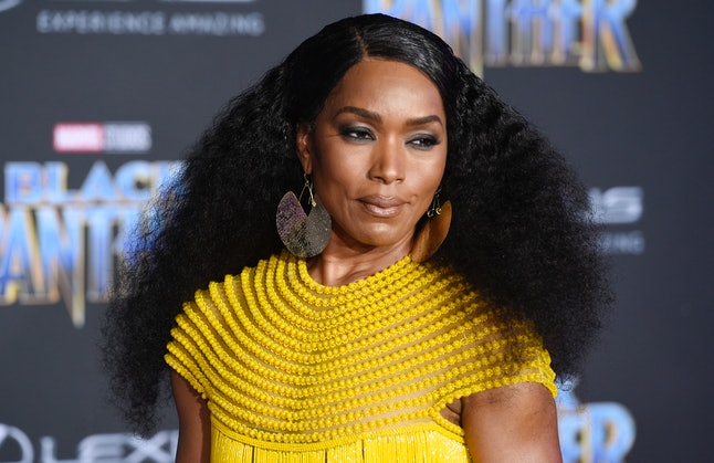 Angela Bassett at the Los Angeles World Premiere of 'Black Panther'