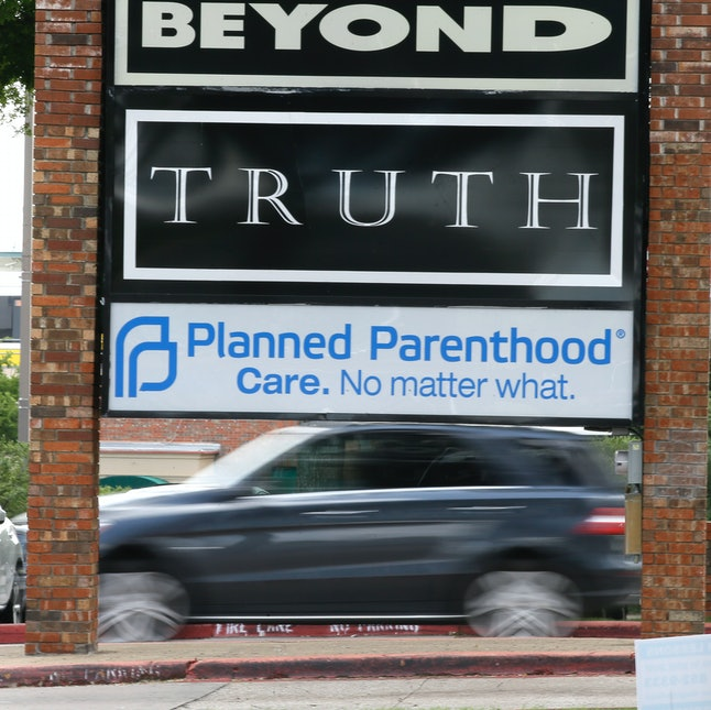 A Planned Parenthood clinic in Dallas, Texas