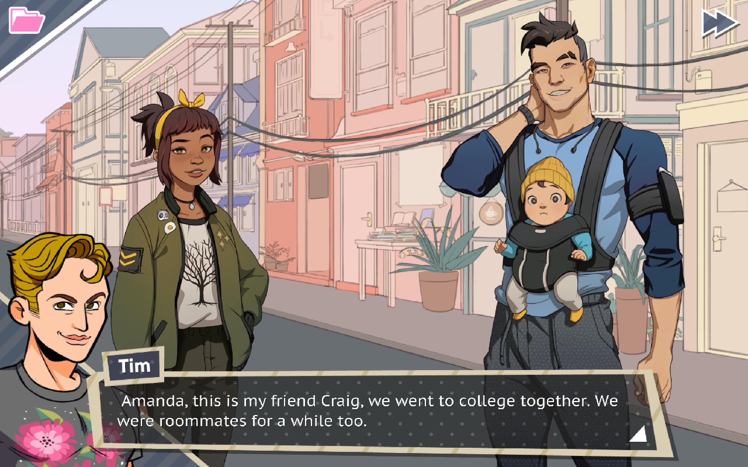 Amanda Dream Daddy dream daddy': this gay dad dating simulator sounds like a