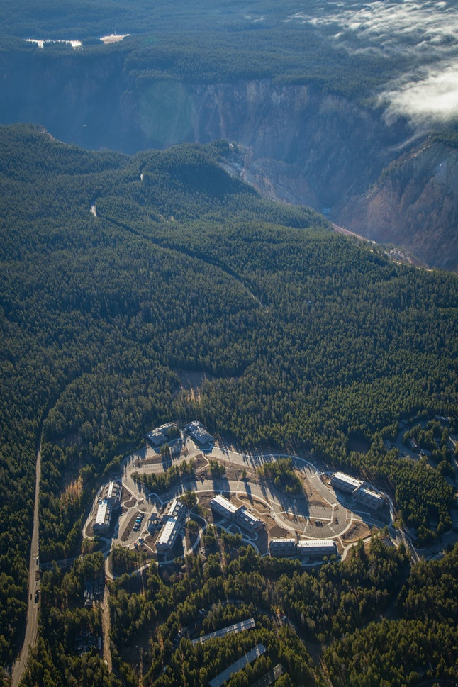 The new lodges in Yellowstone National Park