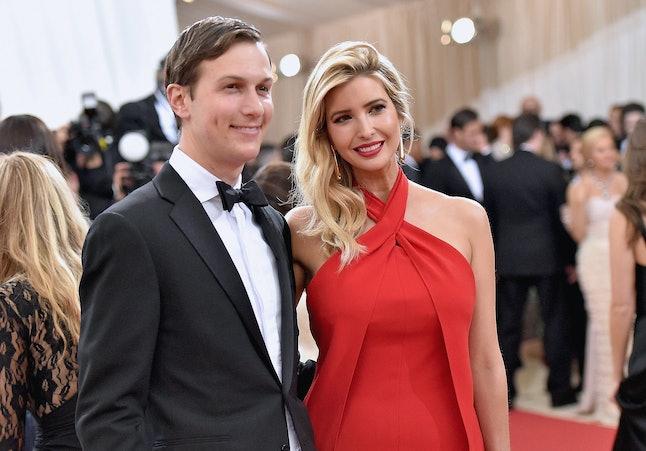 Jared Kushner and Ivanka Trump at the 2016 Met Gala