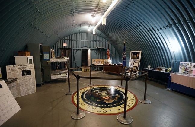 President John F. Kennedy's top-secret Florida bunker