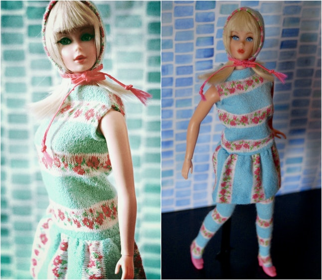 """Vintage Barbie in the """"Togetherness"""" collection, 1968"""