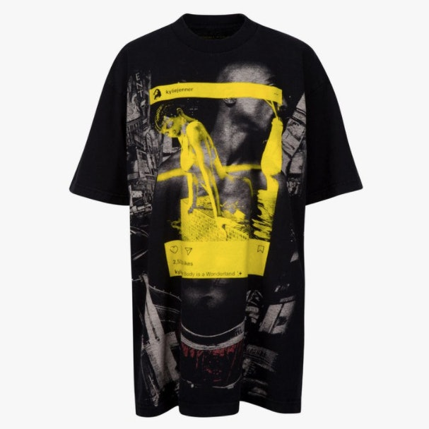 One of Kendall and Kylie's band T-shirts