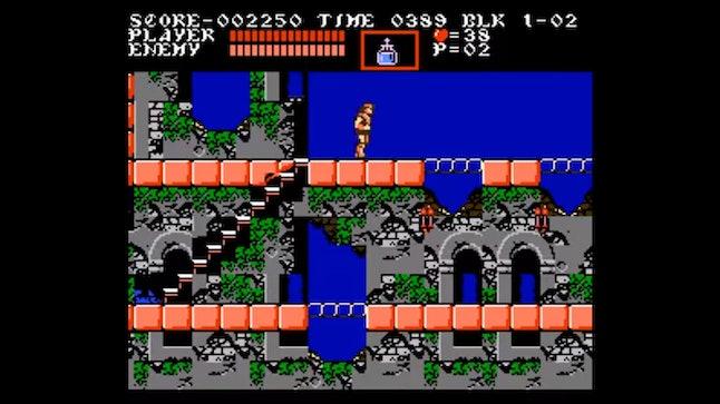 'Castlevania III' on NES