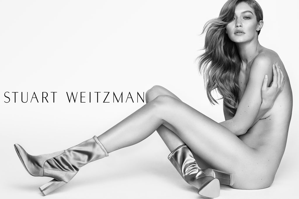 Gigi Hadid Is Naked in Her Latest Ad Campaign | Teen Vogue