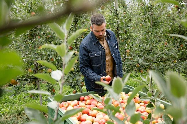 Angry Orchard head cider maker Ryan Burk