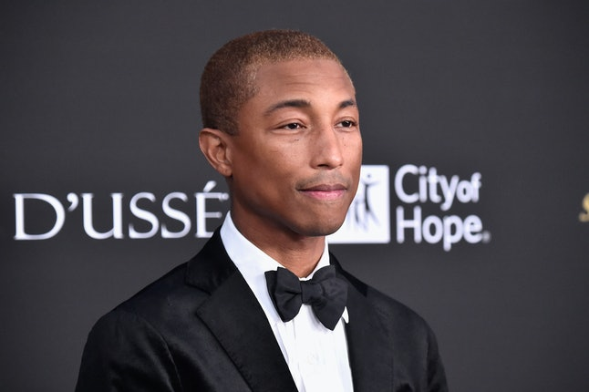Pharrell Williams attends the City of Hope Spirit of Life Gala 2018 at Barker Hangar on Oct. 11 in Santa Monica, California.
