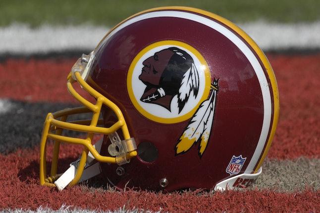 A Washington Redskins helmet in 2007.
