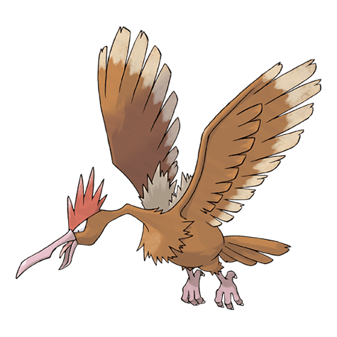 'Pokémon Go' Thanksgiving event: We guess this Fearow kind of looks like a turkey.