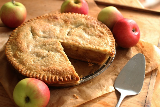 As American as apple pie? Not so fast.