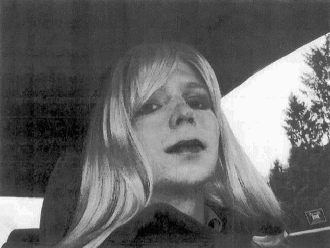 A commonly used image of Chelsea Manning