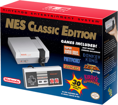 The NES Classic system