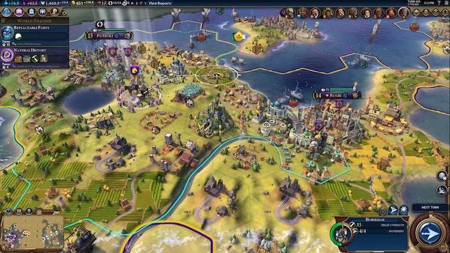 A heavily industrialized Roman shoreline.