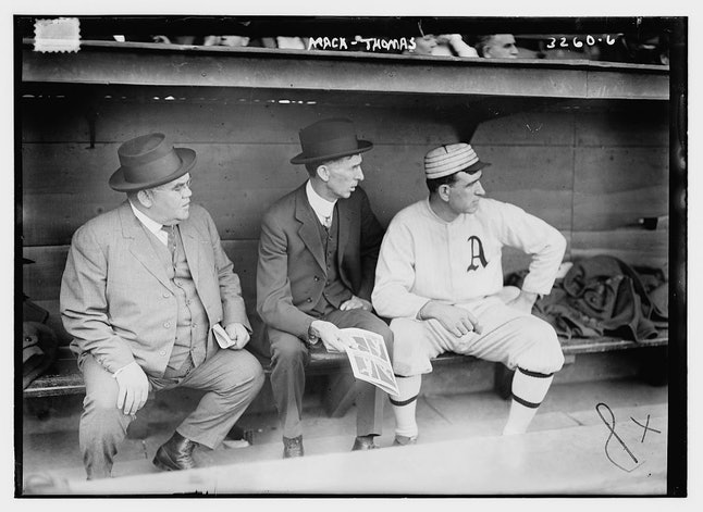 A's manager Connie Mack