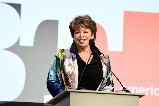 Valerie Jarrett speaks onstage during the Los Angeles LGBT Center's 48th Anniversary Gala Vanguard Awards in September.