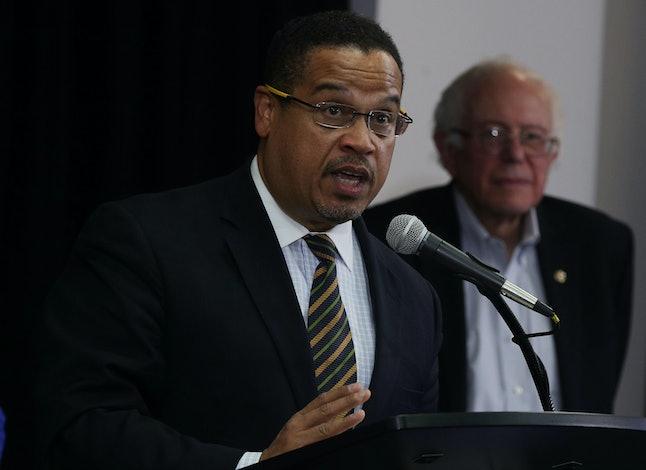 Rep. Keith Ellison and Sen. Bernie Sanders