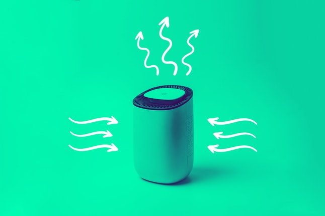 If a room doesn't have good ventilation, an air cleaner or air purifier with a good filter can remove particles that may contain the coronavirus.
