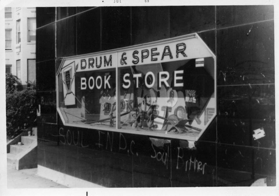 The Drum and Spear storefront