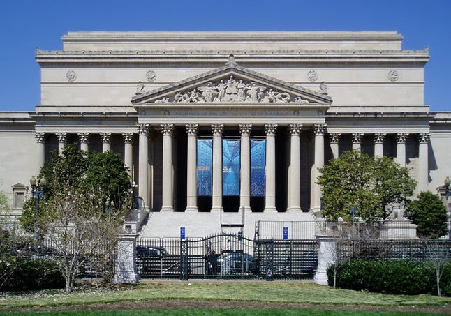 Certified presidential election results are stored in perpetuity at the National Archives.