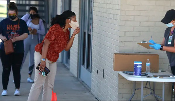 Telehealth has seen a huge increase in use because the coronavirus makes in-person visits riskier. AP Photo/LM Otero