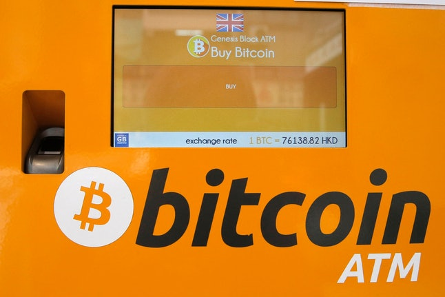 A Bitcoin ATM is seen in Hong Kong, . Bitcoin is the world's most popular virtual currency. Such currencies are not tied to a bank or government and allow users to spend money anonymously