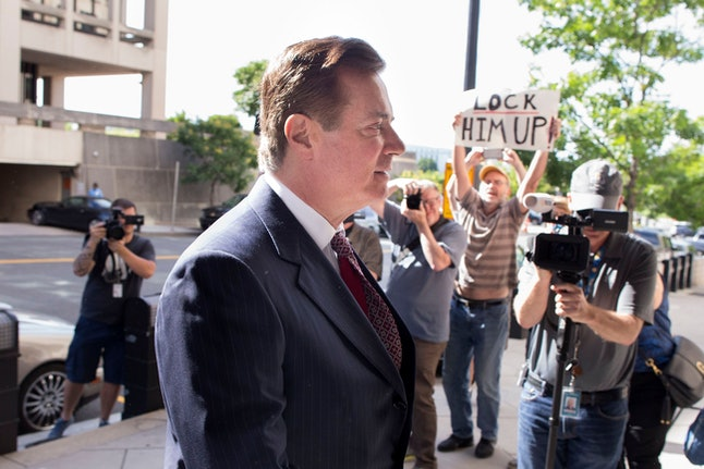 Former Trump campaign chairman Paul Manafort arrives at the Federal Courthouse in Washington, DC, USA, 15 June 2018. Manafort is accused of witness tampering and the office of US Special Counsel Robert Mueller has asked a federal judge to revoke his bail before a trial this autumn.