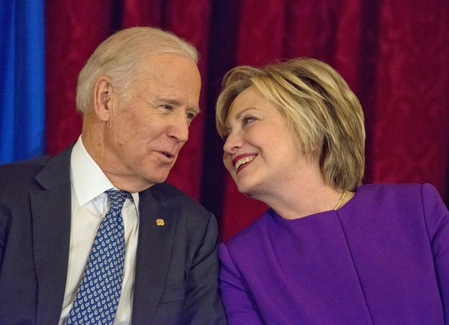 Joe Biden, Hillary Clinton