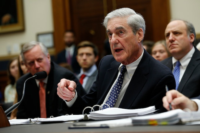 Former Trump-Russia special counsel Robert Mueller gives testimony before the United States House Judiciary Committee on the results of his investigation