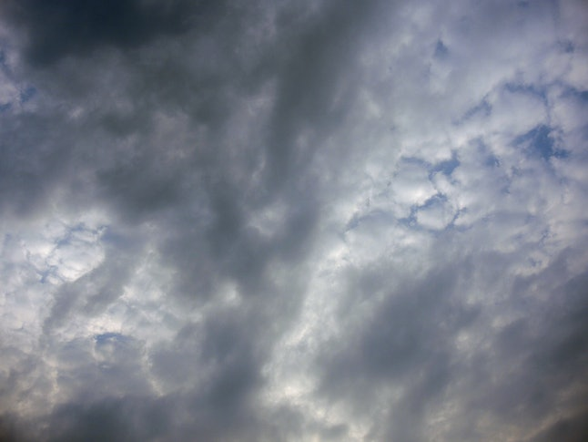 The clouds are covering the sky.